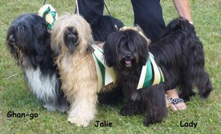 Ghan-go, Jalie und Lady