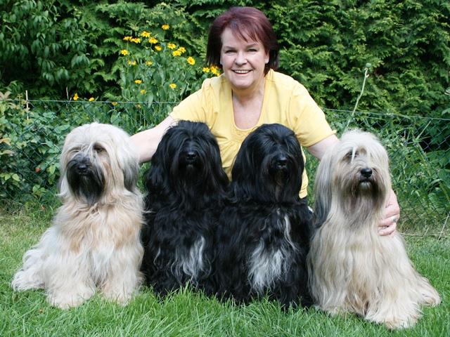 Unsere Hunde und ich im Sommer 2014